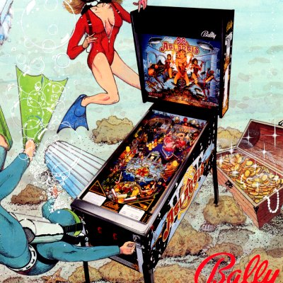bally, atlantis, pinball, sales, price, date, city, condition, auction, ebay, private sale, retail sale, pinball machine, pinball price