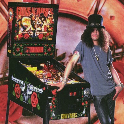 data east, guns n roses, pinball, sales, price, date, city, condition, auction, ebay, private sale, retail sale, pinball machine, pinball price