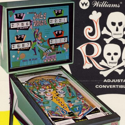 williams, jolly roger, pinball, sales, price, date, city, condition, auction, ebay, private sale, retail sale, pinball machine, pinball price
