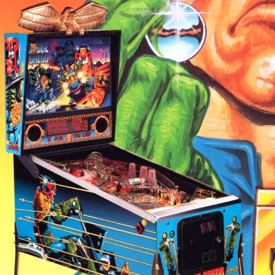 williams, judge dredd, pinball, sales, price, date, city, condition, auction, ebay, private sale, retail sale, pinball machine, pinball price