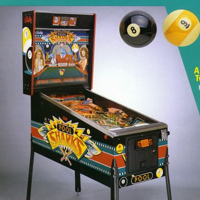 bally, pool sharks, pinball, sales, price, date, city, condition, auction, ebay, private sale, retail sale, pinball machine, pinball price