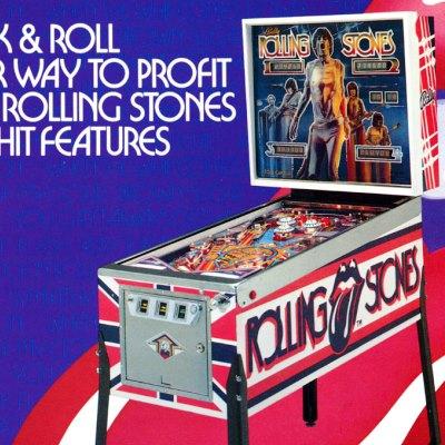 Pinballprice Com Bally Rolling Stones Pinball Machine