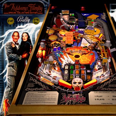 bally, the addams family, special, collectors edition, pinball, sales, price, date, city, condition, auction, ebay, private sale, retail sale, pinball machine, pinball price