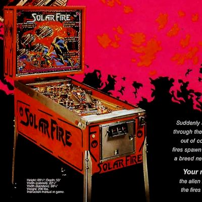 williams, solar fire, pinball, sales, price, date, city, condition, auction, ebay, private sale, retail sale, pinball machine, pinball price