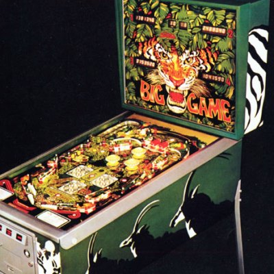 stern, big game, pinball, sales, price, date, city, condition, auction, ebay, private sale, retail sale, pinball machine, pinball price