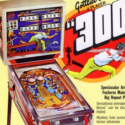 gottlieb, 300, pinball, sales, price, date, city, condition, auction, ebay, private sale, retail sale, pinball machine, pinball price