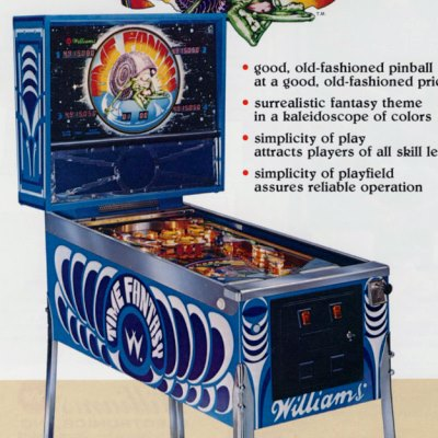 williams, time fantasy, pinball, sales, price, date, city, condition, auction, ebay, private sale, retail sale, pinball machine, pinball price