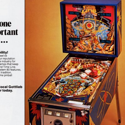 gottlieb, time line, pinball, sales, price, date, city, condition, auction, ebay, private sale, retail sale, pinball machine, pinball price