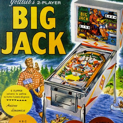 gottlieb, big jack, pinball, sales, price, date, city, condition, auction, ebay, private sale, retail sale, pinball machine, pinball price