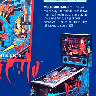 williams, bram stoker's dracula, pinball, sales, price, date, city, condition, auction, ebay, private sale, retail sale, pinball machine, pinball price