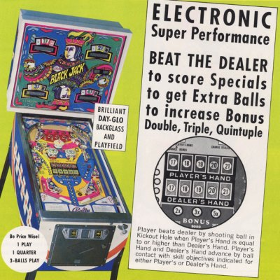 bally, black jack, pinball, sales, price, date, city, condition, auction, ebay, private sale, retail sale, pinball machine, pinball price