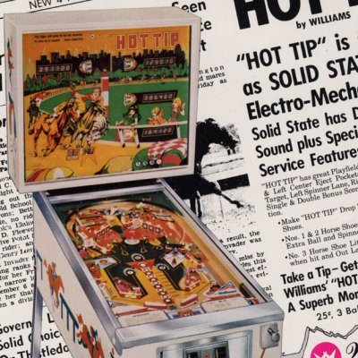 williams, hot tip, pinball, sales, price, date, city, condition, auction, ebay, private sale, retail sale, pinball machine, pinball price