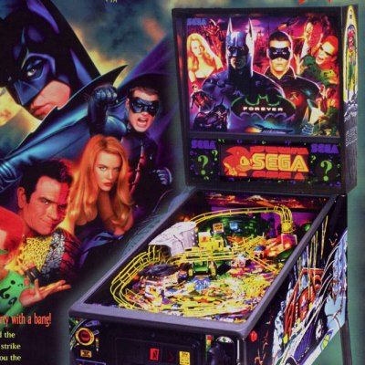 sega, batman forever, pinball, sales, price, date, city, condition, auction, ebay, private sale, retail sale, pinball machine, pinball price