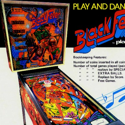 playmatic, black fever, pinball, sales, price, date, city, condition, auction, ebay, private sale, retail sale, pinball machine, pinball price