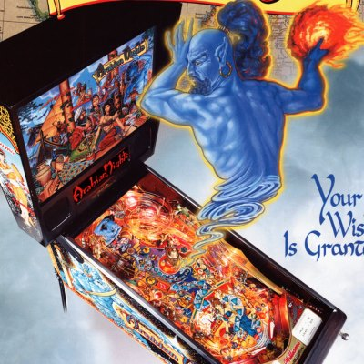 williams, tales of the arabian nights, pinball, sales, price, date, city, condition, auction, ebay, private sale, retail sale, pinball machine, pinball price