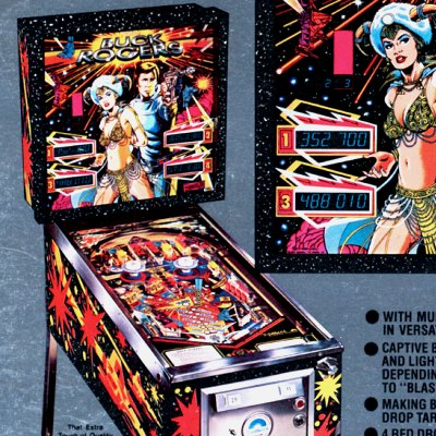 gottlieb, buck rogers, pinball, sales, price, date, city, condition, auction, ebay, private sale, retail sale, pinball machine, pinball price