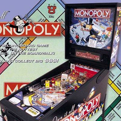 stern, monopoly, pinball, sales, price, date, city, condition, auction, ebay, private sale, retail sale, pinball machine, pinball price