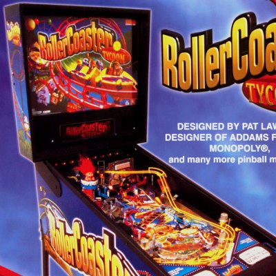 stern, rollerCoaster tycoon, pinball, sales, price, date, city, condition, auction, ebay, private sale, retail sale, pinball machine, pinball price
