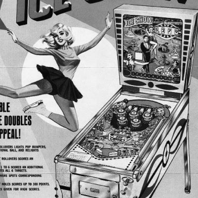gottlieb, ice show, pinball, sales, price, date, city, condition, auction, ebay, private sale, retail sale, pinball machine, pinball price