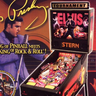 stern, elvis, pinball, sales, price, date, city, condition, auction, ebay, private sale, retail sale, pinball machine, pinball price