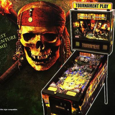 stern, pirates of the caribbean, pinball, sales, price, date, city, condition, auction, ebay, private sale, retail sale, pinball machine, pinball price
