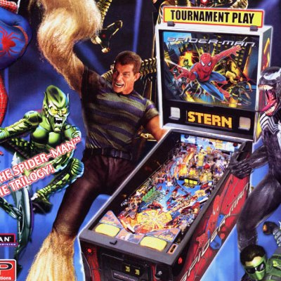 stern, spider man, pinball, sales, price, date, city, condition, auction, ebay, private sale, retail sale, pinball machine, pinball price