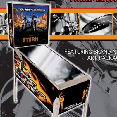 stern, harley davidson, pinball, sales, price, date, city, condition, auction, ebay, private sale, retail sale, pinball machine, pinball price
