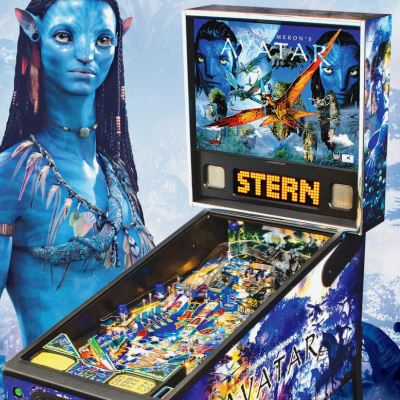 stern, james camerons avatar, pinball, sales, price, date, city, condition, auction, ebay, private sale, retail sale, pinball machine, pinball price