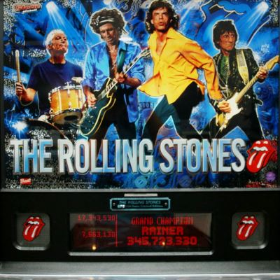 stern, the rolling stones, pinball, sales, price, date, city, condition, auction, ebay, private sale, retail sale, pinball machine, pinball price