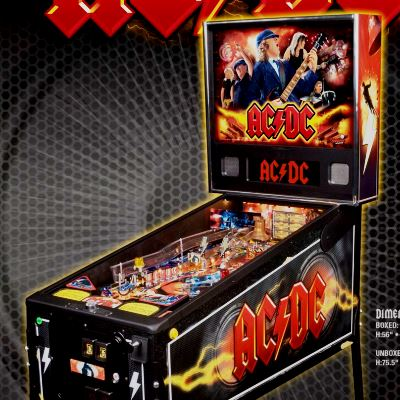 stern, ac/dc, pinball, sales, price, date, city, condition, auction, ebay, private sale, retail sale, pinball machine, pinball price