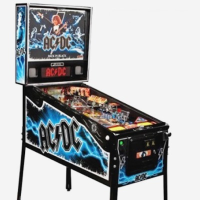 stern, AC/DC back in black, pinball, sales, price, date, city, condition, auction, ebay, private sale, retail sale, pinball machine, pinball price