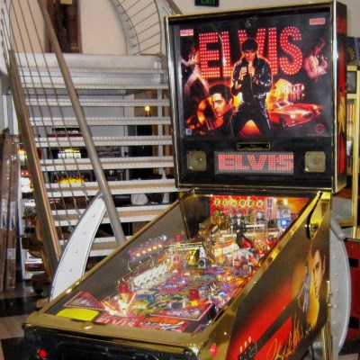 stern, elvis gold, pinball, sales, price, date, city, condition, auction, ebay, private sale, retail sale, pinball machine, pinball price
