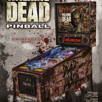 stern, the walking dead, pinball, sales, price, date, city, condition, auction, ebay, private sale, retail sale, pinball machine, pinball price