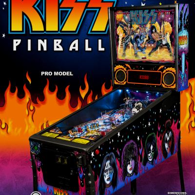 stern, kiss, pinball, sales, price, date, city, condition, auction, ebay, private sale, retail sale, pinball machine, pinball price