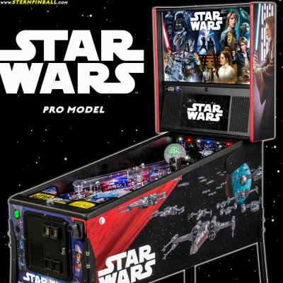 stern, star wars, pinball, sales, price, date, city, condition, auction, ebay, private sale, retail sale, pinball machine, pinball price