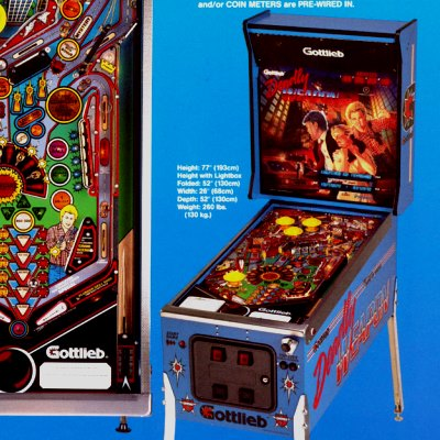 gottlieb, deadly weapon, pinball, sales, price, date, city, condition, auction, ebay, private sale, retail sale, pinball machine, pinball price
