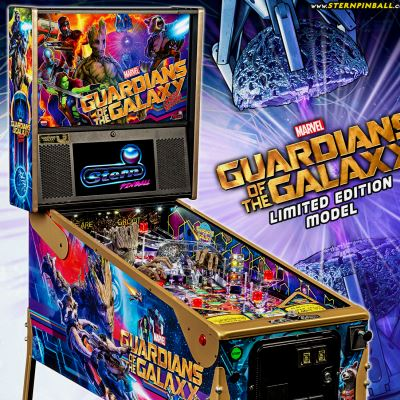 stern, guardians of the galaxy, pinball, sales, price, date, city, condition, auction, ebay, private sale, retail sale, pinball machine, pinball price