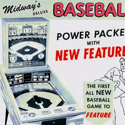 midway, deluxe baseball, pinball, sales, price, date, city, condition, auction, ebay, private sale, retail sale, pinball machine, pinball price