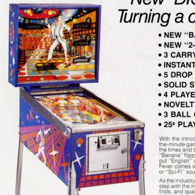 williams, disco fever, pinball, sales, price, date, city, condition, auction, ebay, private sale, retail sale, pinball machine, pinball price
