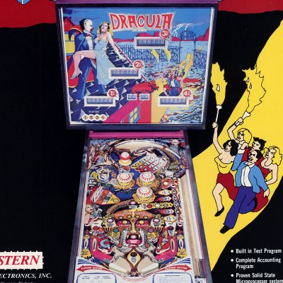stern, dracula, pinball, sales, price, date, city, condition, auction, ebay, private sale, retail sale, pinball machine, pinball price