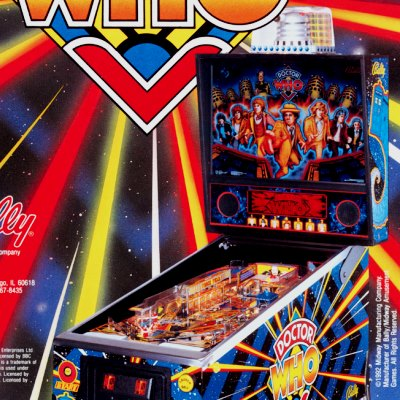 bally, doctor who, pinball, sales, price, date, city, condition, auction, ebay, private sale, retail sale, pinball machine, pinball price