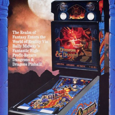 bally, dungeons & dragons, pinball, sales, price, date, city, condition, auction, ebay, private sale, retail sale, pinball machine, pinball price