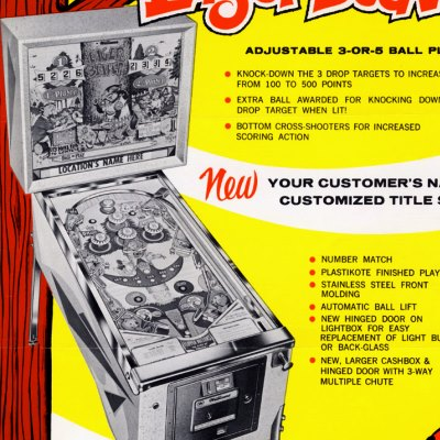 williams, eager beaver, pinball, sales, price, date, city, condition, auction, ebay, private sale, retail sale, pinball machine, pinball price