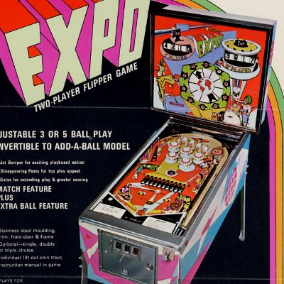 williams, expo, pinball, sales, price, date, city, condition, auction, ebay, private sale, retail sale, pinball machine, pinball price