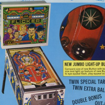 bally, flicker, pinball, sales, price, date, city, condition, auction, ebay, private sale, retail sale, pinball machine, pinball price