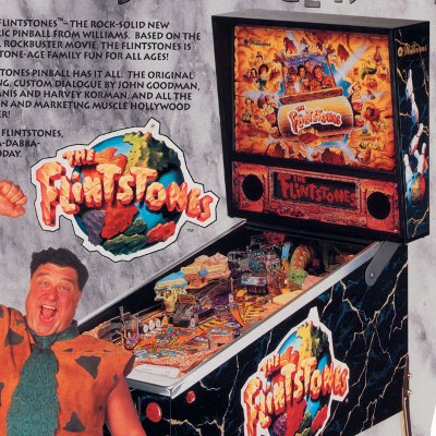 williams, the flintstones, pinball, sales, price, date, city, condition, auction, ebay, private sale, retail sale, pinball machine, pinball price