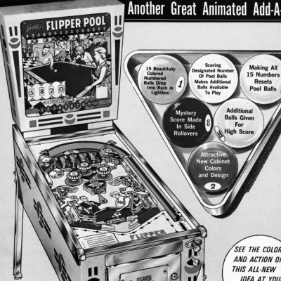 gottlieb, flipper pool, pinball, sales, price, date, city, condition, auction, ebay, private sale, retail sale, pinball machine, pinball price