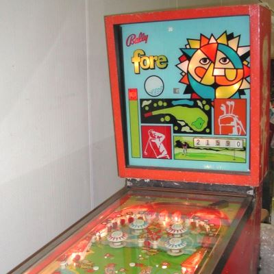 bally, fore, pinball, sales, price, date, city, condition, auction, ebay, private sale, retail sale, pinball machine, pinball price