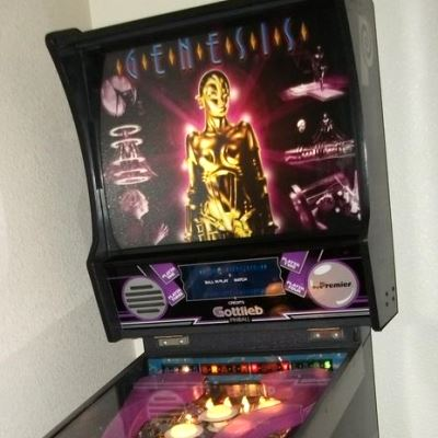 gottlieb, genesis, pinball, sales, price, date, city, condition, auction, ebay, private sale, retail sale, pinball machine, pinball price